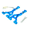LST Blue Aluminum Upper Arms with Titanium Rods (Front/Rear)