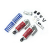 REVO Silver Aluminum Shocks(Rear) w/ Piggyback 2PCS
