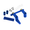 T-MAXX Blue Aluminum Steering Assembly