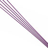Purple Antenna Tube w/ Cap(380mm)5pcs
