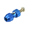 Blue Aluminum Antenna Mount