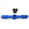 Blue Aluminum Light Weight 24T Two-way Heavy Duty Servo Arm for HITEC Servo