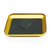 Golden Aluminum Magnetic Tray