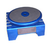 Blue Aluminum Work Stand w/ Rotary Plate