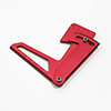 Red Aluminum Camber Gauge